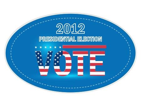 renuncia: Estados Unidos Pegatinas elecciones presidenciales de 2012