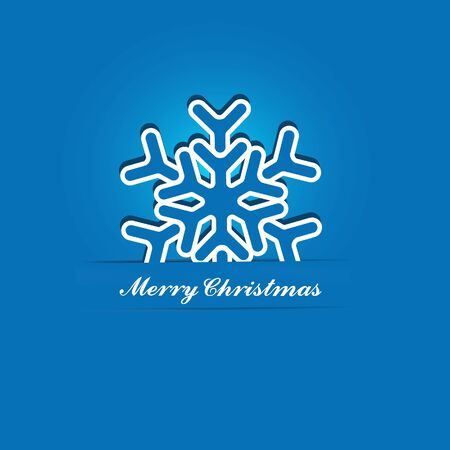 Christmas Snowflake Applique  Background Stock Vector - 15756663