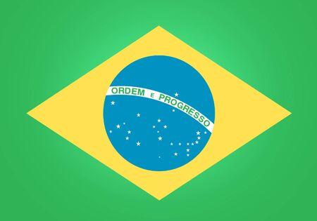 brasil: Flag of Brasil