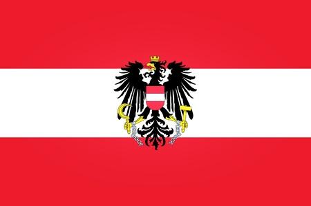 austrian flag: Flag of Austria