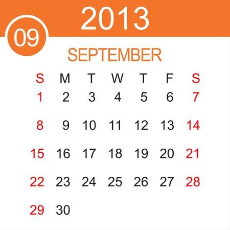 calendario septiembre: Calendario septiembre 2013