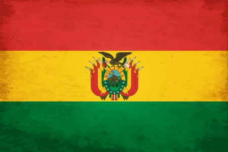Grunge Flag of Bolivia Stock Vector - 16131042