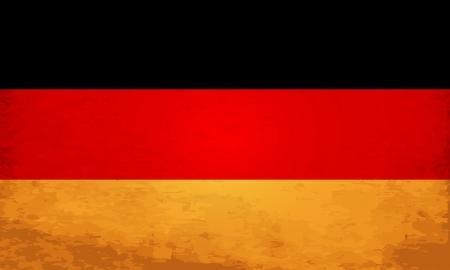 Grunge Flag Of Germany Illustration