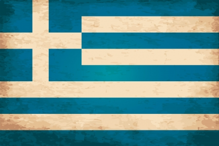 greece flag: Grunge Flag of Greece Illustration