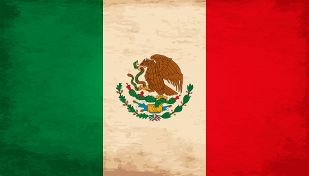 bandera mexicana: Grunge Bandera De México