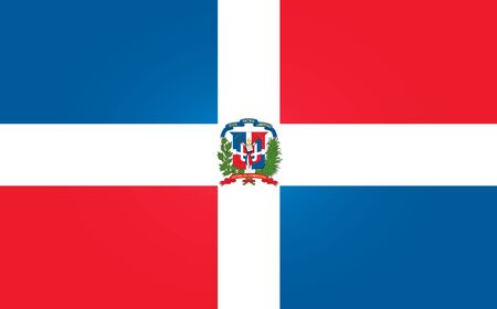 republic dominican: Flag of Dominican Republican