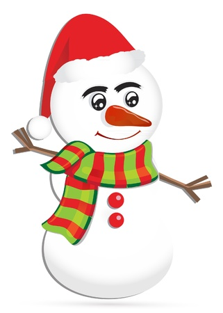 Snowman Stock Vector - 16594750