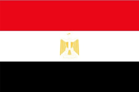 flag of egypt: Bandera de Egipto