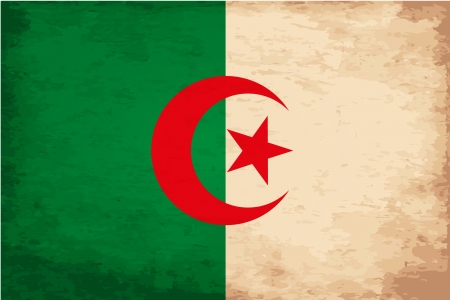 Grunge Flag of Algerian Stock Vector - 16770205