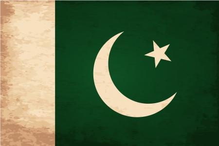 flag of pakistan: Grunge Flag of Pakistan