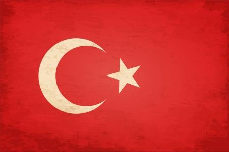 Grunge Flag of Turkey Stock Vector - 16770211
