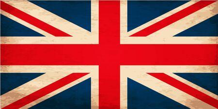 grunge union jack: Grunge Flag of United Kingdom