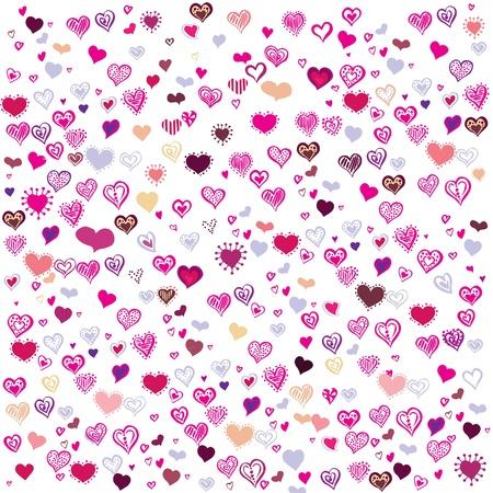 hot announcement: Purple Hearts Happy Valentine s Day
