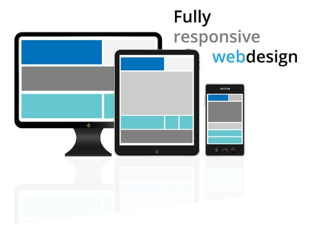 dialing pad: Fully responsive web design in electronic devices