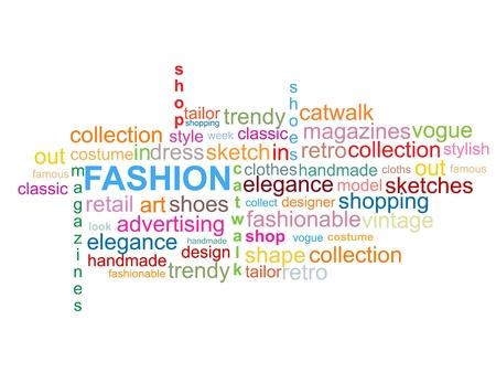 Fashion - Word Cloud Stock Vector - 19716599