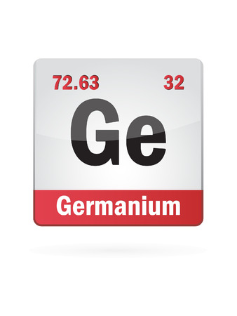 isotope: Germanium Symbol Illustration Icon Illustration