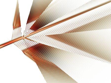 geometrical leaf