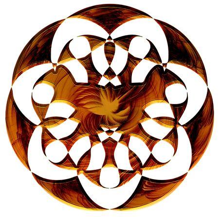 whittle: Wooden Mandala