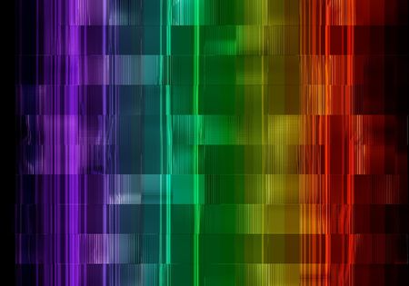 background - specular tiles - spectral colors Stock Photo