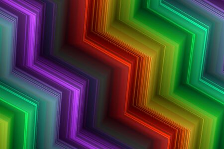 abstract background in the colors of the rainbow