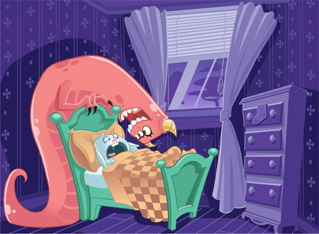 under the bed: Wake up Call  - Monster Under Bed