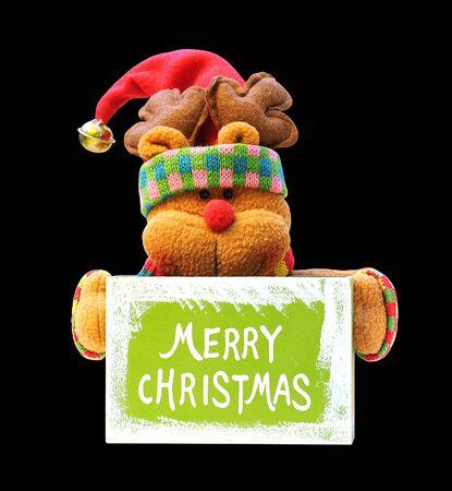 huggable: Christmas decoration - bear