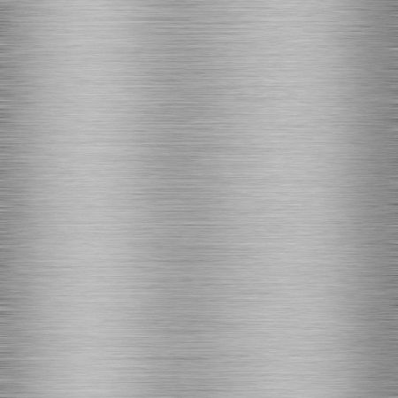 brushed aluminium: Metallic texture Stock Photo