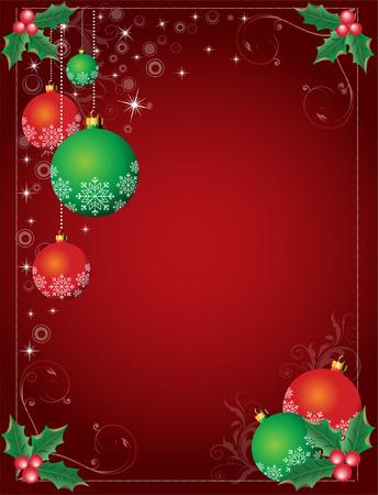 Sfondo Natale Archivio Fotografico - 5774254