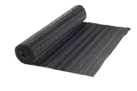 Roll of black liner for shelves and drawers, white background