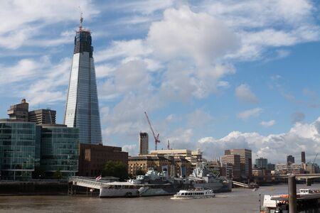 Shard London Bridge picture from the Thames