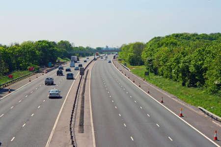 haulage: Motorway in UK