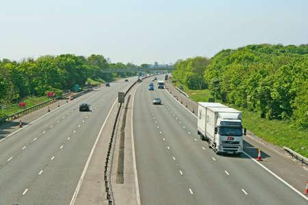 haulage: Motorway haulage