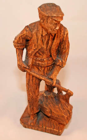 woodcutter: Ornamental woodcutter from Austria