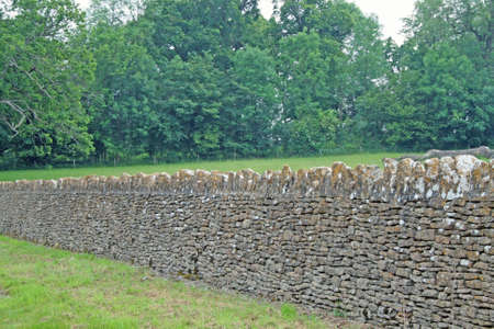 drystone: Dry stone wall