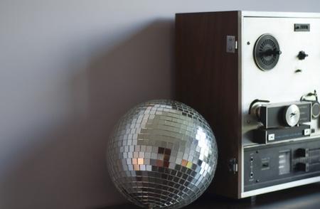 mirrorball: disco ball Stock Photo
