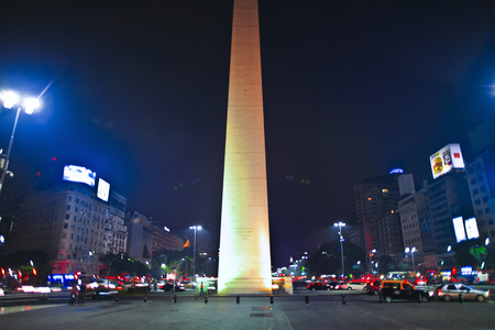 julio: buenos aires night HDR obelisk