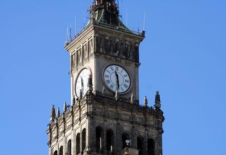 clocktower: Warsaws clocktower #2