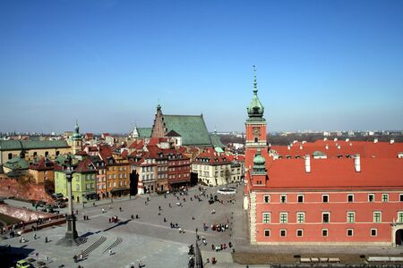 Old Town and Royal Palace in Warsaw