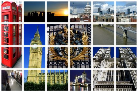 Fabulous London Collage photo