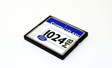 micro drive: 1GB generic compact flash card