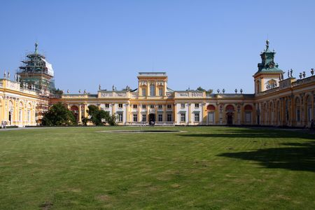 iii: Royal Wilanow Palace in Warsaw - residence of King Jan III Sobieski