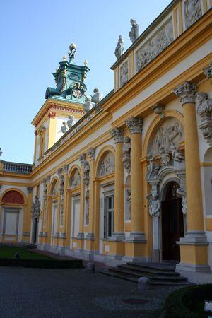 sobieski: Royal Wilanow Palace in Warsaw - residence of King Jan III Sobieski