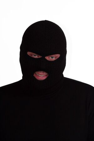 shoplifter: Criminal series 8 - your friendly neighbourhood burglar (or terrorist) Stock Photo