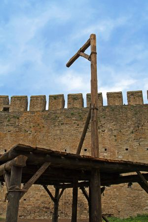 capital punishment: Medieval gallows used for hanging criminals