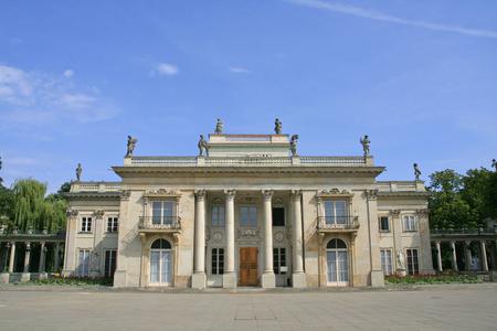 Palac na Wodzie in Lazienki Park in Warsaw, Poland