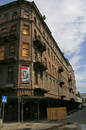 Ulica Prozna, the last remainder of the Warsaw Jewish Ghetto