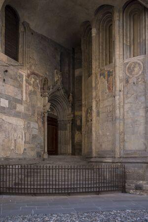 church exterior design background. Standard-Bild
