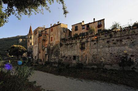 The Ancient town of Finalborgo Imagens