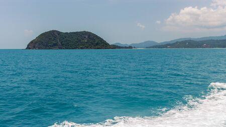 Koh Phangan, Thailand island pier view