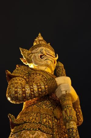 Guardian statue photo